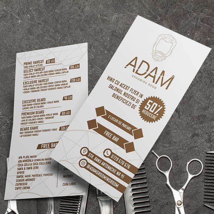 grafica-flyere-frizerie-luxury-barbershop